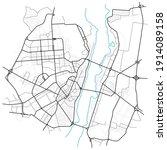 voronezh city map   town... | Shutterstock .eps vector #1914089158