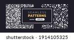 seamless abstract pattern.... | Shutterstock .eps vector #1914105325