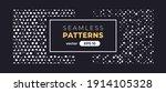 seamless abstract pattern.... | Shutterstock .eps vector #1914105328