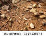 there are many broken stones on ... | Shutterstock . vector #1914125845