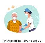 coronavirus  covid 19 ... | Shutterstock .eps vector #1914130882