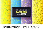 seamless abstract pattern.... | Shutterstock .eps vector #1914154012