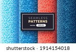 seamless abstract pattern.... | Shutterstock .eps vector #1914154018