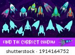 kids game shadow match with... | Shutterstock .eps vector #1914164752