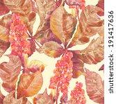 Chestnut Blossom Seamless...