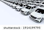 3d Render Image Of A Fleet Of...
