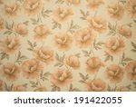 wallpaper with poppy flowers as ... | Shutterstock . vector #191422055