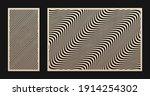 laser cut pattern set. vector... | Shutterstock .eps vector #1914254302