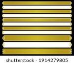a set of long horizontal frames ... | Shutterstock .eps vector #1914279805