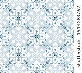 ceramic tile pattern vector ... | Shutterstock .eps vector #1914283762
