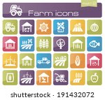 farm icons part 2 | Shutterstock .eps vector #191432072