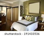 bedroom architecture stock... | Shutterstock . vector #191433536