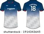 sports jersey t shirt design ... | Shutterstock .eps vector #1914343645