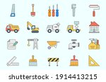 Construction Icons Set   Vector ...