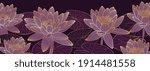luxury lotus background vector. ... | Shutterstock .eps vector #1914481558