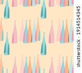 seamless pattern pink...   Shutterstock .eps vector #1914514345