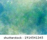 Grunge Green Beige Blue...