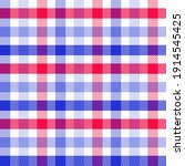 Red  White And Blue Tablecloth...