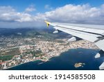 Beautiful View From A Plane Of...