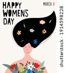 Happy Women's Day Concept....