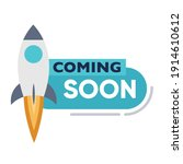 coming soon page design for... | Shutterstock .eps vector #1914610612