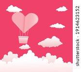 vector poster happy valentines... | Shutterstock .eps vector #1914623152