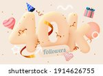 40k or 40000 followers thank... | Shutterstock .eps vector #1914626755