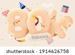 80k or 80000 followers thank...   Shutterstock .eps vector #1914626758