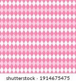 valentines day argyle plaid....   Shutterstock .eps vector #1914675475