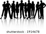 group of people   vector | Shutterstock .eps vector #1914678