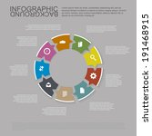 infographic concept   speech... | Shutterstock .eps vector #191468915
