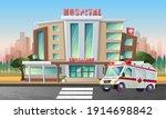 vector cartoon style flat... | Shutterstock .eps vector #1914698842