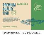 premium quality sardines.... | Shutterstock .eps vector #1914709318