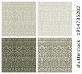 set of square seamless patterns ... | Shutterstock .eps vector #1914735202