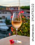 Tasting Of Local Cold Rose Wine ...