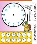 Cartoon Illustrations Of Clock...