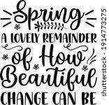 spring a lovely remainder of... | Shutterstock .eps vector #1914773275
