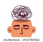 mental health illness ... | Shutterstock .eps vector #1914783562