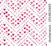 lovely hand drawn romantic...   Shutterstock .eps vector #1914815605
