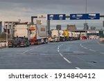 Wirral  Uk   Feb 6 2021  Lorry...