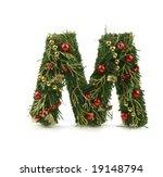 nice christmas alphabet | Shutterstock . vector #19148794