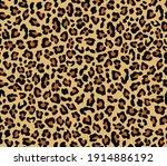 camouflage leopard vector... | Shutterstock .eps vector #1914886192