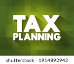 tax planning text quote ... | Shutterstock .eps vector #1914892942