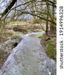 Fast Flowing Stream Running...
