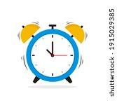 simple alarm clock illustration ...   Shutterstock .eps vector #1915029385