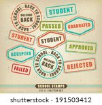 vector collection of various...   Shutterstock .eps vector #191503412
