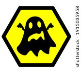 icon or illustration of ghost ... | Shutterstock .eps vector #1915035958