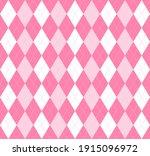 valentines day argyle plaid....   Shutterstock .eps vector #1915096972