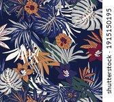 beautiful vintage floral... | Shutterstock .eps vector #1915150195
