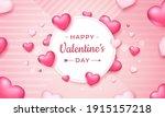 happy valentine's day... | Shutterstock .eps vector #1915157218